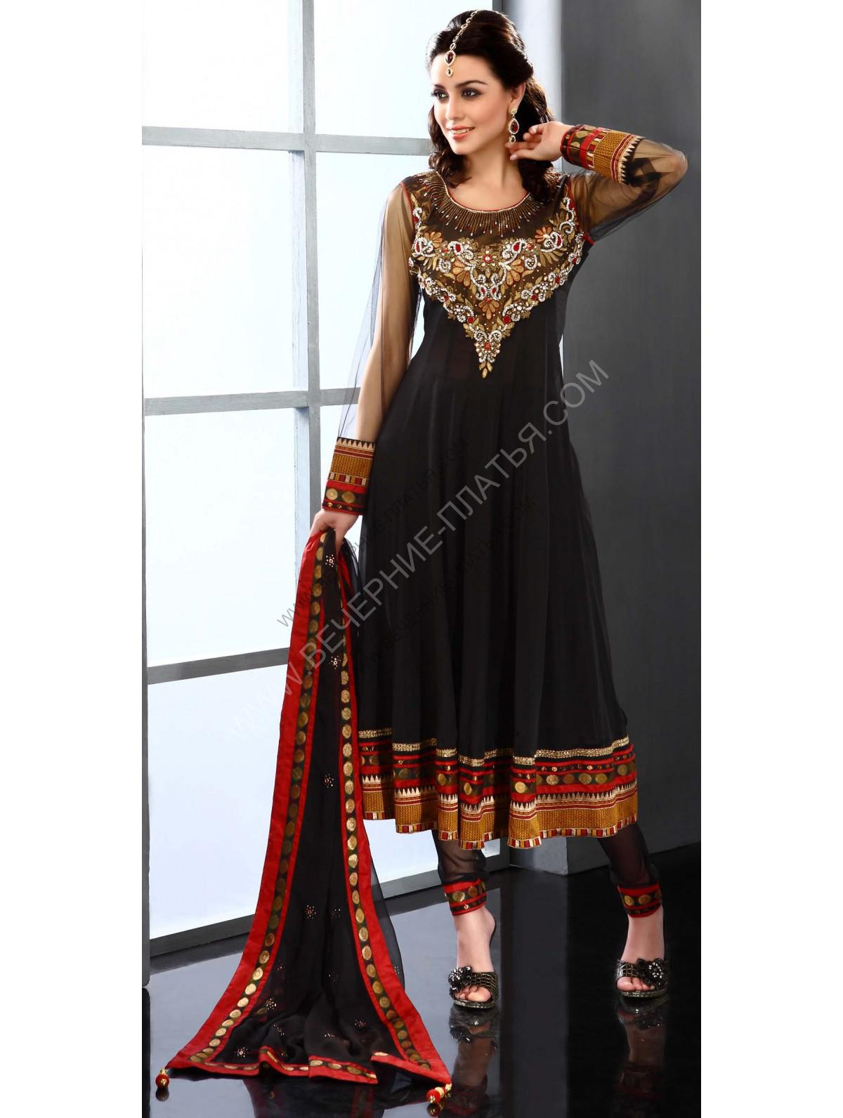 Индийские платья короткие